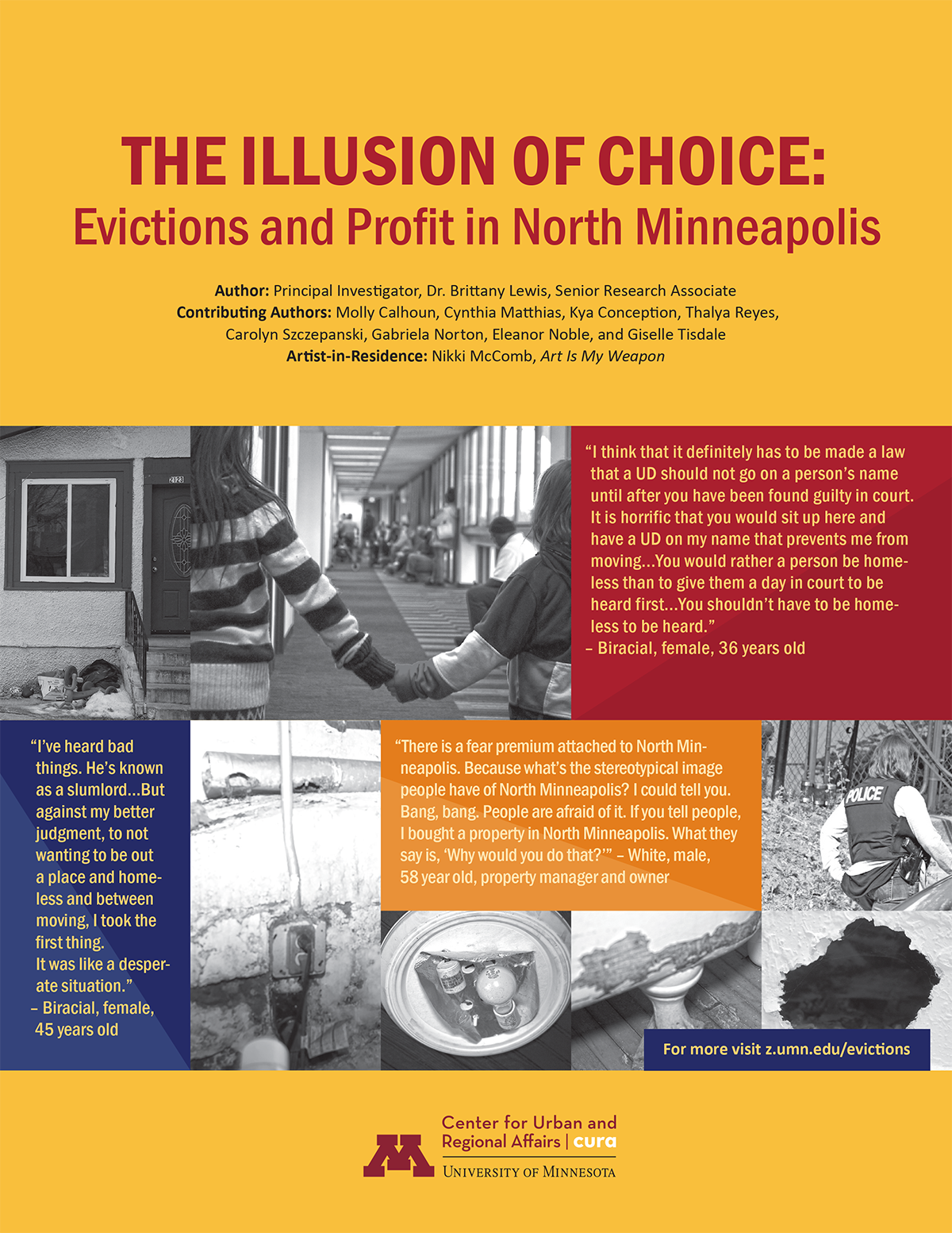 """The Illusion of Choice: Evictions and Profit in North Minneapolis"""
