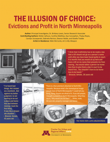 The Illusion of Choice: Evictions and Profit in North Minneapolis