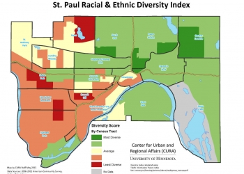 St. Paul Racial/Ethnic Diversity Index