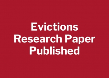 Evictions Research Paper Published