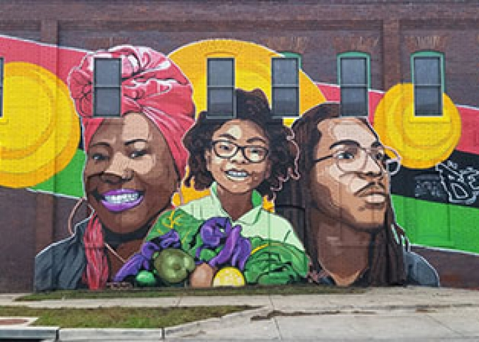 The East 38th Street African American History Mural