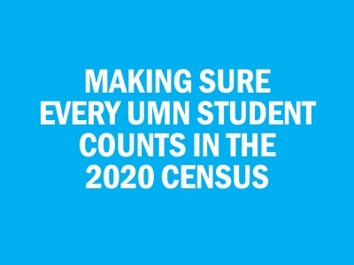 Hennepin-University Partnership and the 2020 Census