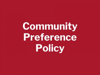 Community Preference Policy